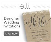 Designer Wedding Invitations by Elli.com