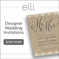Designer Wedding Invitations by Elli.com