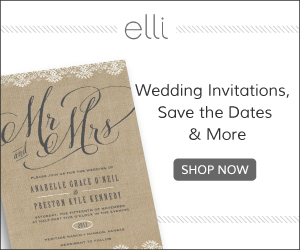 Wedding Invitations and Save the Dates by Elli.com
