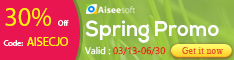 Aiseesoft Spring 30% Off