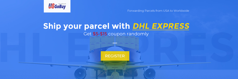 Ship your parcel with DHL Express through usgobuy.com, get $5-$15 coupon randomly Express, get $5-$15 coupon Express through usgobuy.com,