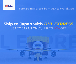 USA to Japa DHL Express, up to 30% off.