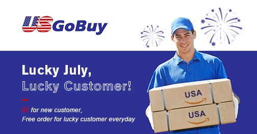 $7 for new customer, lucky free order customer every day.