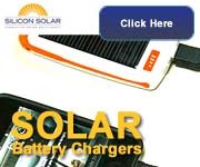 Solar Chargers From Silicon Solar