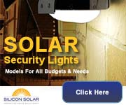 Solar Security Lights From Silicon Solar