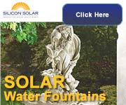 Solar Fountains From Silicon Solar
