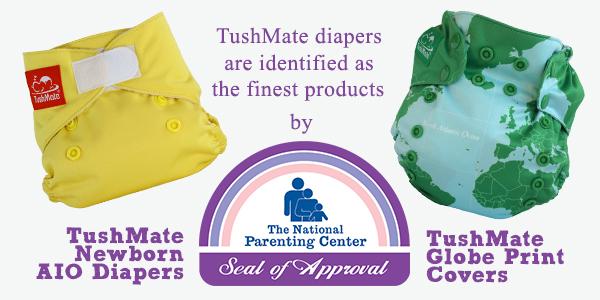 TushMate diaper award