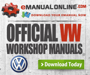 Official VW Workshop Manuals