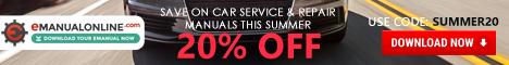 eManualonline Massive Summer Offer 20% OFF Site Wide, Use Code: SUMMER20