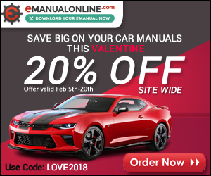 eManualonline.com 20% OFF Site Wide, Use Code: LOVE2018