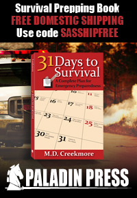 31 Days to Survival - USE CODE SASSHIPFREE for Free Domestic Shipping