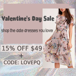 Shop the V-Day dresses you love at PinkQueen.com!