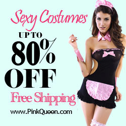 Up to 80% Off & Free Shipping on Costumes at PinkQueen.com!