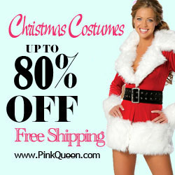 Sexy Christmas Costumes Up to 80% Off!
