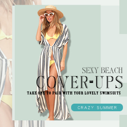 Pair your lovely swimsuits with our sexy beach cover-ups