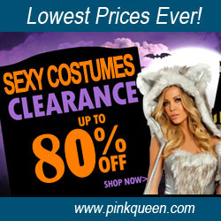 Sexy Halloween Costumes Up to 80% Off!