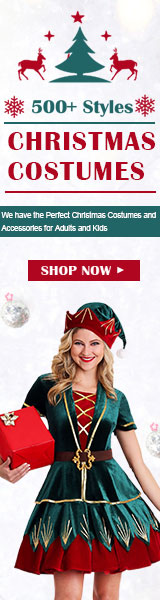15% off $45 for 500+Styles Christmas Costumes