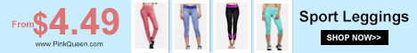 Sport Leggings from $4.99 at PinkQueen.com