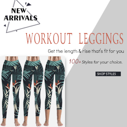 1000+Styles Workout Leggings from VamJump.com
