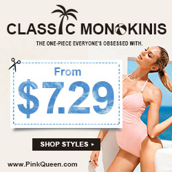 Best choice of summer: CLASSIC MONOKINIS!