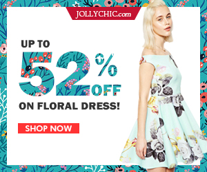 Floral Dress on Sale - Save up to 52% Off on over 185+ Floral Dresses to delight your wardrobe this summer at JollyChic.com. Check out the comfortable and fashionable floral dresses!
