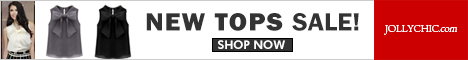 New TOPS on Sale - Save up to 45% Off on over 200+ Stylish Tops that all women would love plus price as low as $11.99 at JollyChic.com. Check out the casual, formal, colorful, silky, long, short,  designer ,hottest pick,new tops for all special occasions.