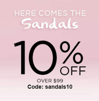 Here Comes The Sandals! 10% Over$99 With Code:sandals10 at shoespie.com,Shop Now,Time Limited!