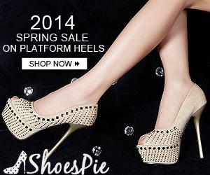 2014 Spring Sale on Platform Heels, Shop at Shoespie.com Now!