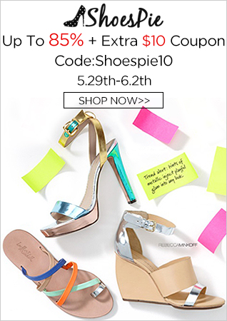 Shoespie Sandals Up to 85% Off+$10 Coupon, Code: Shoespie10, Shop Now! 5.29th-6.2nd!