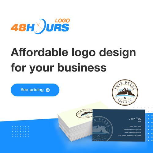 48hourslogo design banner 3 - 500 x 500
