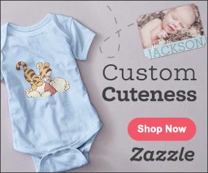 Shop Custom Baby Products on Zazzle