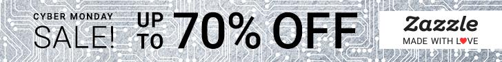 Shop Zazzle Cyber Monday Sale