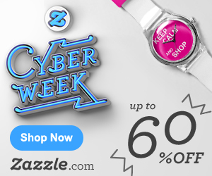Up to 60% on Zazzle.com