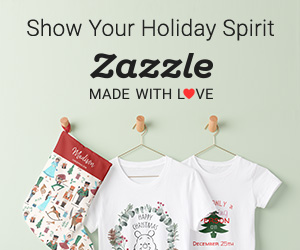 Show Your Holiday Spirit! Shop now on Zazzle.com