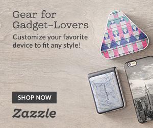 Shop Custom Gear for Gadgets on Zazzle.com