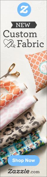 Shop Custom Fabric on Zazzle