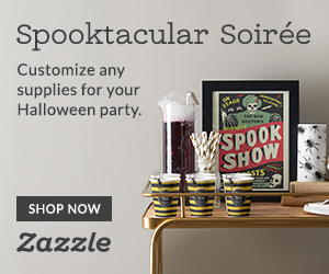 Shop Halloween Party Supplies on Zazzle.com