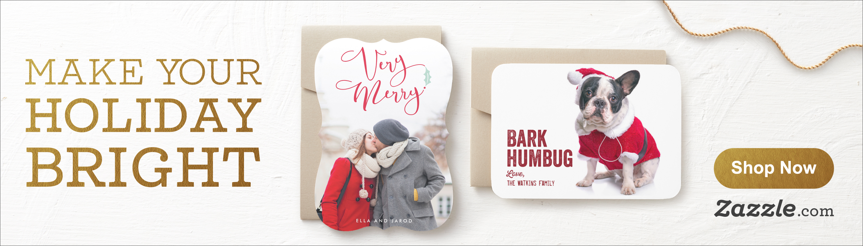 Shop Holiday Cards on Zazzle.com