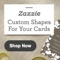 Custom Shapes For Your Cards at Zazzle