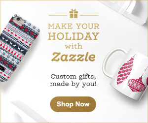 Save up to 50% off on Zazzle!