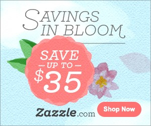 Save up to $35 on Zazzle.com