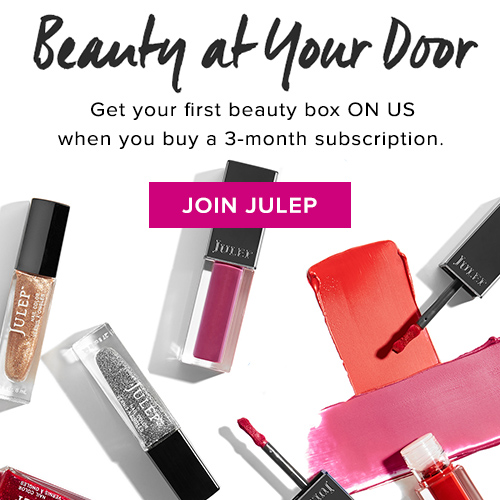 Julep free Beauty Box Subscription