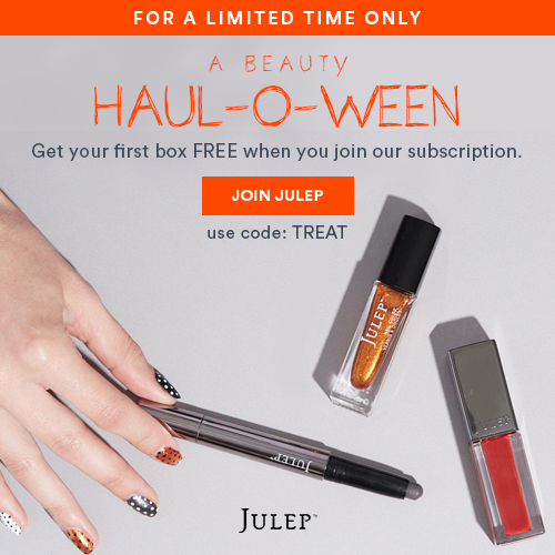 Halloween Free Box Offer - Julep