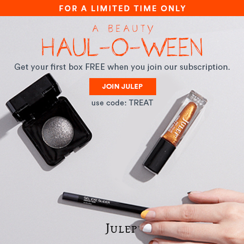 Halloween Free Box Offer - Julep