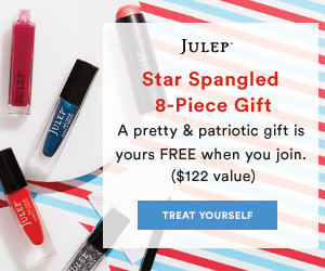 Free 8 Piece Star-Spangled Beauty Gift when you Join Julep