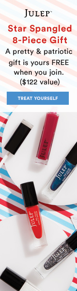 8 pc beauty gift FREE when you join Julep
