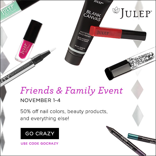 Julep Friends & Family Sale