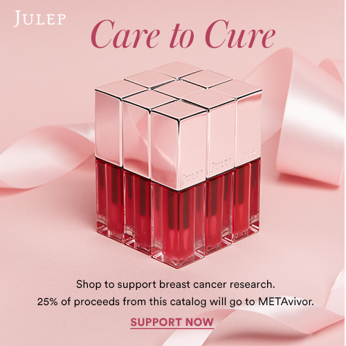 Shop to support breast cancer with Julep! Care to Cure.