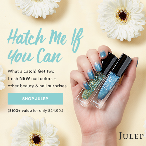 Check out my April 2017  Julep box and grab their Easter Mystery Box while it lasts!
