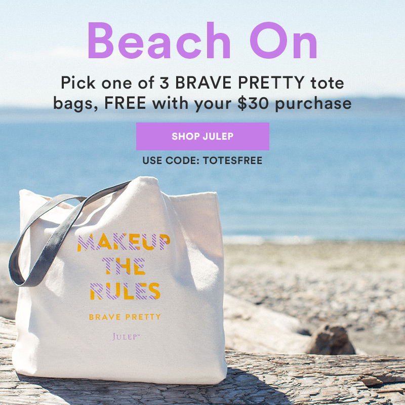 Free Brave Pretty Tote offer